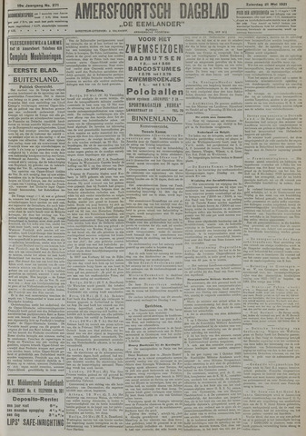 Amersfoortsch Dagblad / De Eemlander 1921-05-21