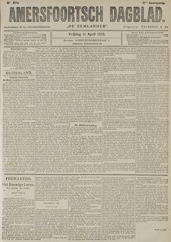 Amersfoortsch Dagblad / De Eemlander 1913-04-11