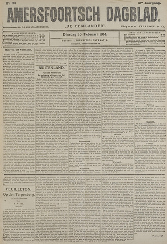 Amersfoortsch Dagblad / De Eemlander 1914-02-10