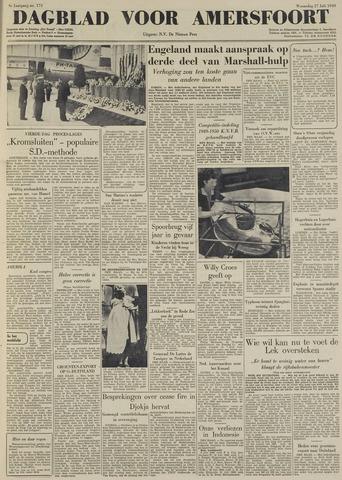 Dagblad voor Amersfoort 1949-07-27