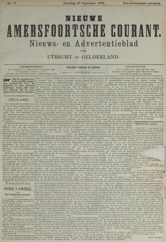 Nieuwe Amersfoortsche Courant 1892-09-24