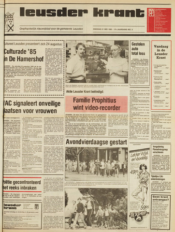 Leusder Krant 1985-05-21
