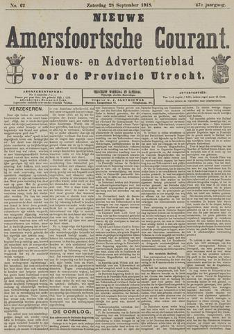 Nieuwe Amersfoortsche Courant 1918-09-28