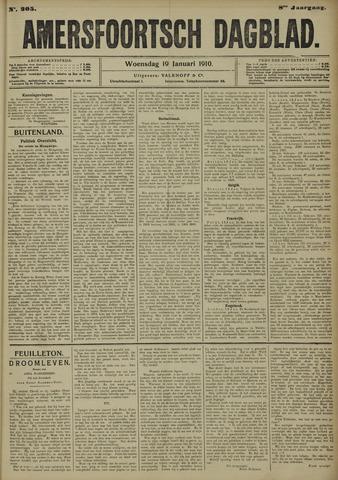 Amersfoortsch Dagblad 1910-01-19