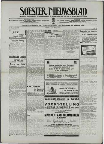Soester Courant 1939-07-14