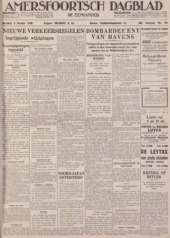 Amersfoortsch Dagblad / De Eemlander 1936-10-05