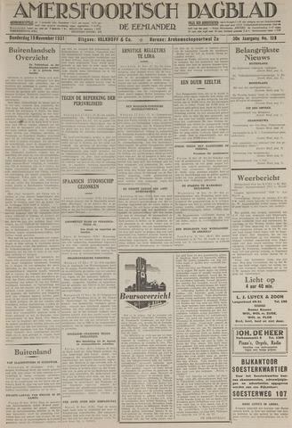 Amersfoortsch Dagblad / De Eemlander 1931-11-19