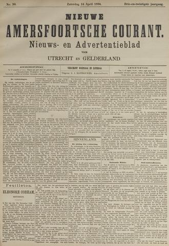 Nieuwe Amersfoortsche Courant 1894-04-14