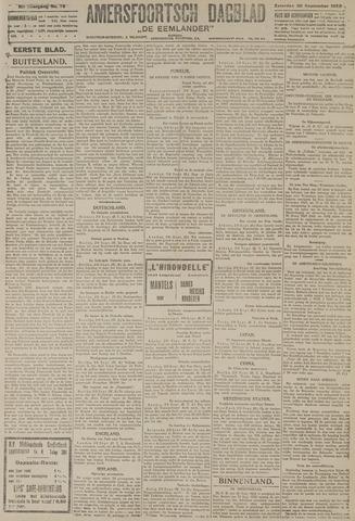Amersfoortsch Dagblad / De Eemlander 1922-09-30