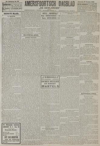 Amersfoortsch Dagblad / De Eemlander 1922-10-21