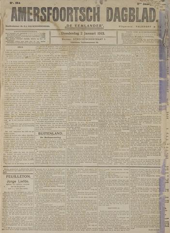 Amersfoortsch Dagblad / De Eemlander 1913-01-02