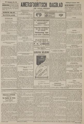 Amersfoortsch Dagblad / De Eemlander 1927-01-21