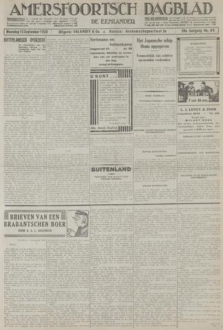 Amersfoortsch Dagblad / De Eemlander 1930-09-15