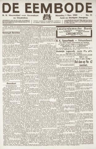 De Eembode 1924-12-01