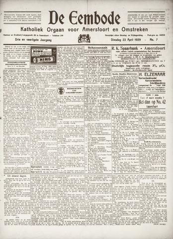 De Eembode 1929-04-23