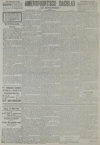 Amersfoortsch Dagblad / De Eemlander 1921-07-27