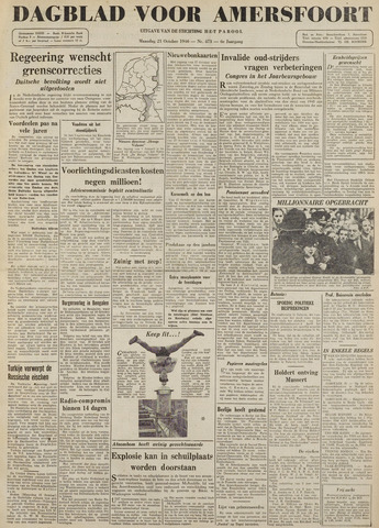 Dagblad voor Amersfoort 1946-10-21