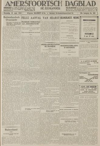 Amersfoortsch Dagblad / De Eemlander 1931-06-24