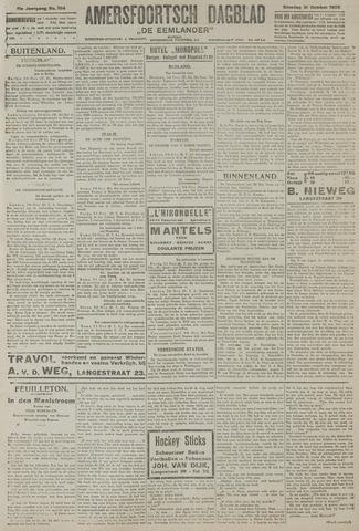 Amersfoortsch Dagblad / De Eemlander 1922-10-31