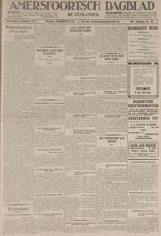 Amersfoortsch Dagblad / De Eemlander 1931-10-21