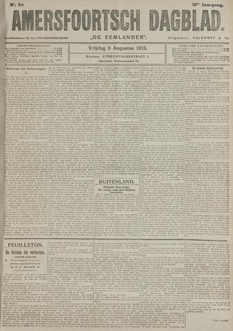 Amersfoortsch Dagblad / De Eemlander 1913-08-08