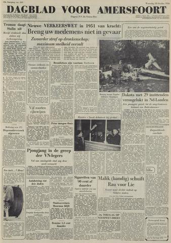 Dagblad voor Amersfoort 1950-10-18