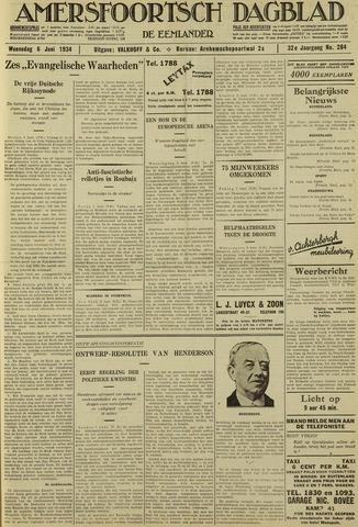 Amersfoortsch Dagblad / De Eemlander 1934-06-06