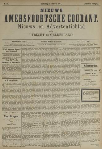 Nieuwe Amersfoortsche Courant 1887-10-22