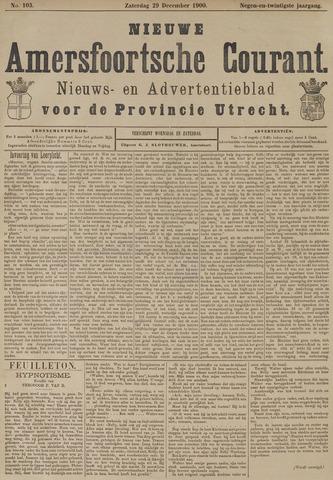 Nieuwe Amersfoortsche Courant 1900-12-29