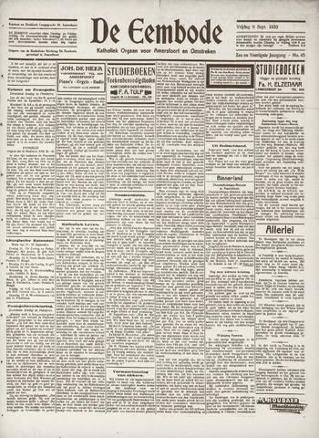 De Eembode 1932-09-09