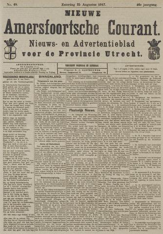 Nieuwe Amersfoortsche Courant 1917-08-25