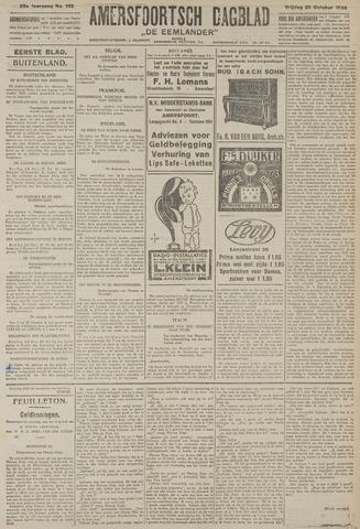 Amersfoortsch Dagblad / De Eemlander 1926-10-29