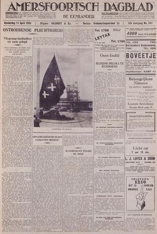 Amersfoortsch Dagblad / De Eemlander 1935-04-11