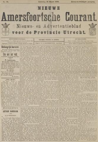 Nieuwe Amersfoortsche Courant 1898-03-26