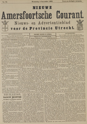 Nieuwe Amersfoortsche Courant 1903-11-04