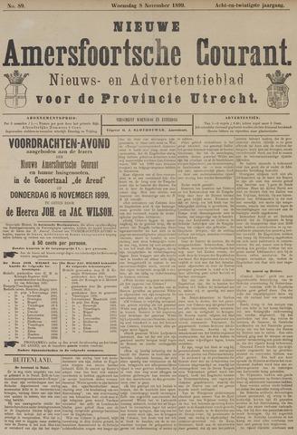 Nieuwe Amersfoortsche Courant 1899-11-08