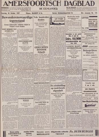 Amersfoortsch Dagblad / De Eemlander 1937-10-30