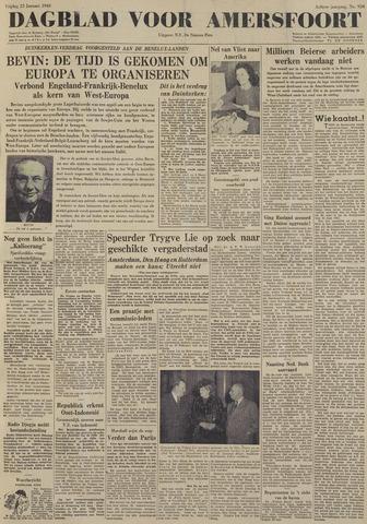 Dagblad voor Amersfoort 1948-01-23
