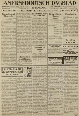Amersfoortsch Dagblad / De Eemlander 1932-03-07