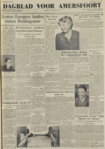 Dagblad voor Amersfoort 1950-06-19