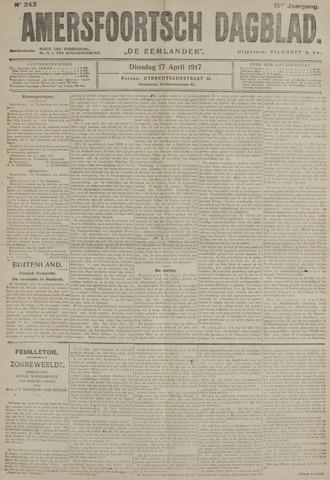 Amersfoortsch Dagblad / De Eemlander 1917-04-17