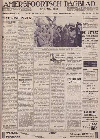 Amersfoortsch Dagblad / De Eemlander 1936-12-05