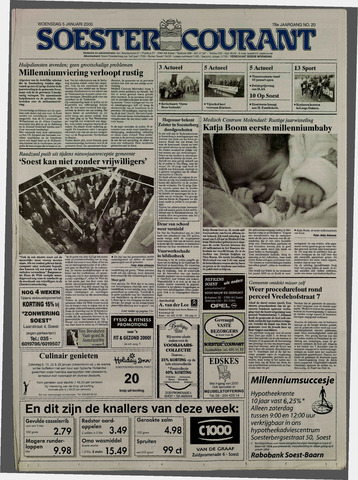 Soester Courant 2000-01-05