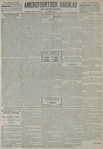 Amersfoortsch Dagblad / De Eemlander 1922-03-27