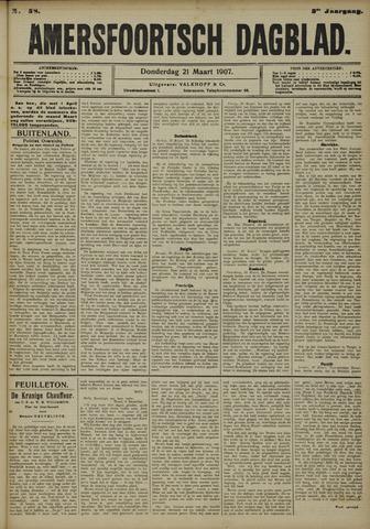Amersfoortsch Dagblad 1907-03-21