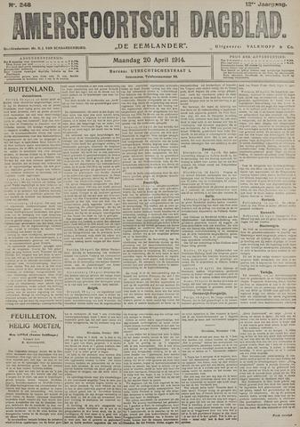 Amersfoortsch Dagblad / De Eemlander 1914-04-20