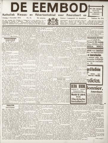 De Eembode 1914-11-03