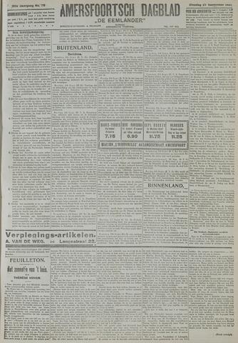 Amersfoortsch Dagblad / De Eemlander 1921-09-27