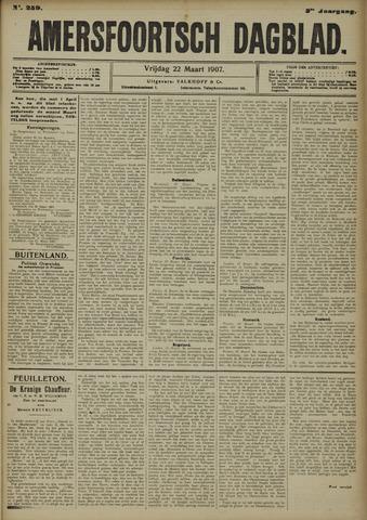 Amersfoortsch Dagblad 1907-03-22