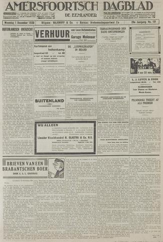 Amersfoortsch Dagblad / De Eemlander 1930-12-01